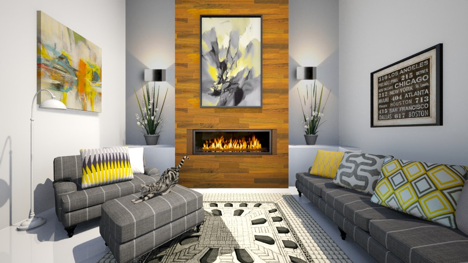 Wyatt - Modern - Living room - by Saharasaraharas