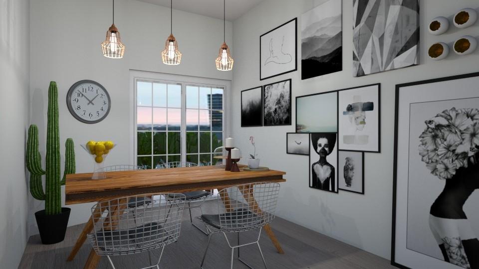 dining room - by kapetanovica23