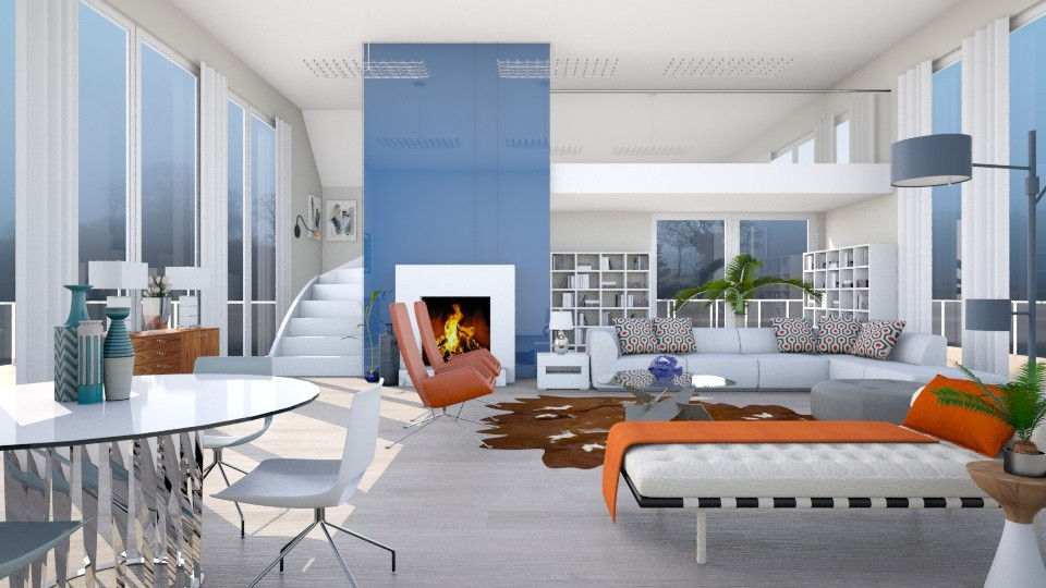 Foggy Morning - Modern - Living room - by janip