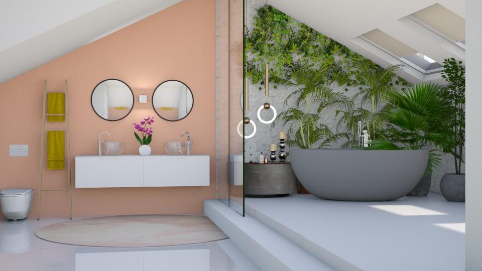 Attic Bath - by Aymee Estrella