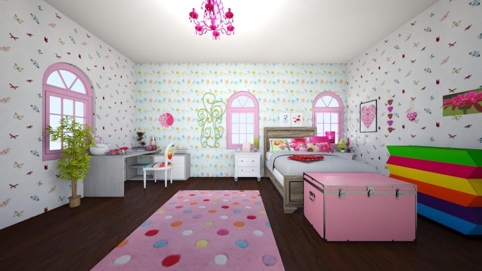sweet - Bedroom - by kotki