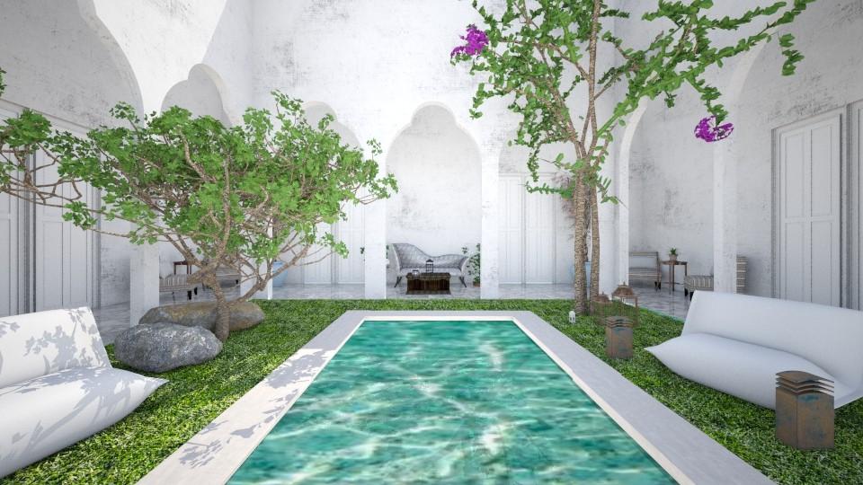 Indoor patio oasis - Garden - by rebsrebsmmg