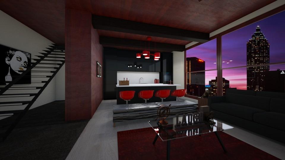 Cherry Room - Living room - by ArtofLife12