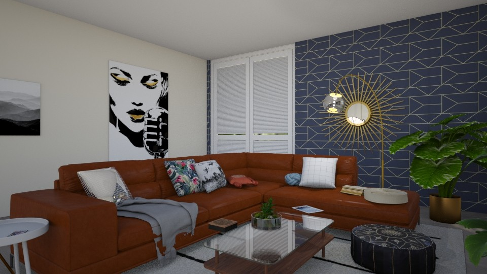 Boho Chic - Glamour - Living room - by love Tully love