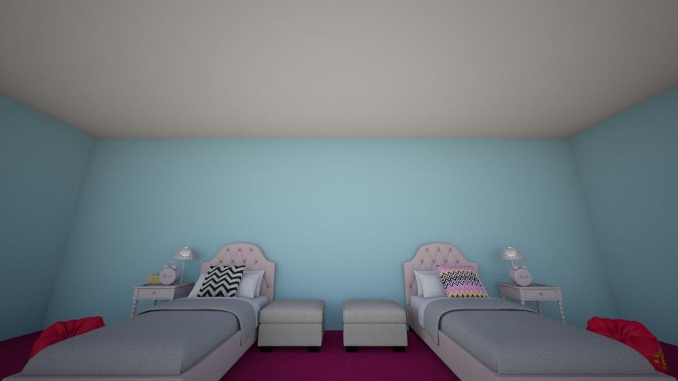 Sims 4 Twins bedroom  - by oka101555