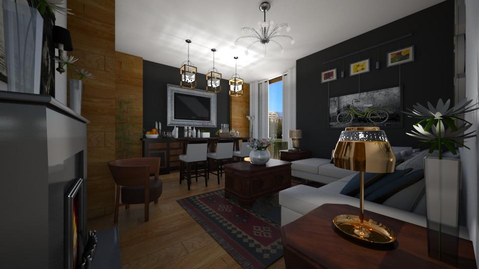 Vida - Living room - by Maria Helena_215