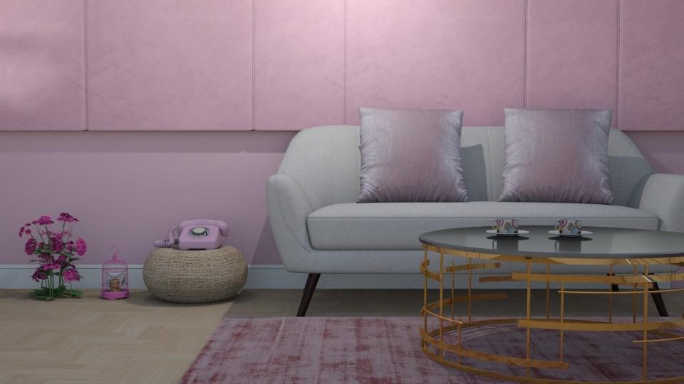 white  - Living room - by zrinkaroso