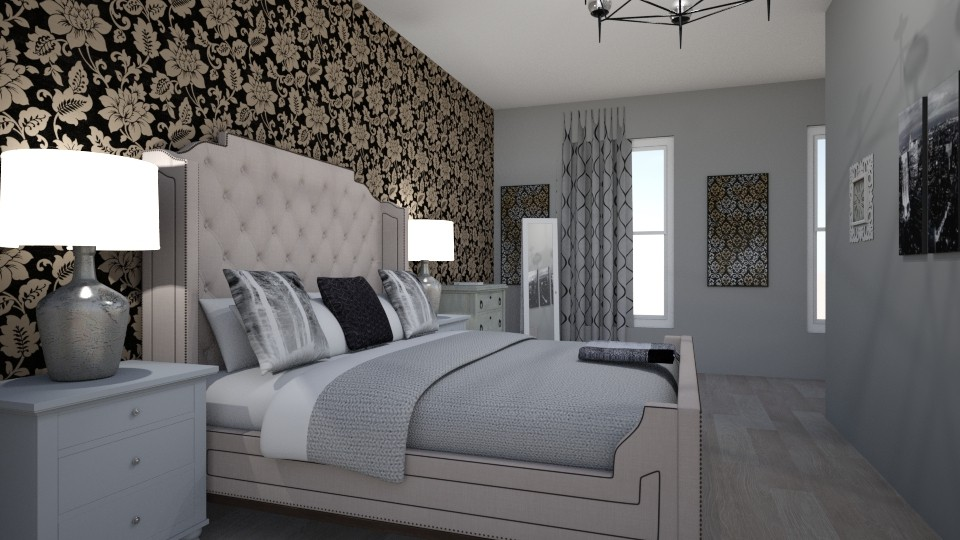 peng bedroom - Bedroom - by MSK
