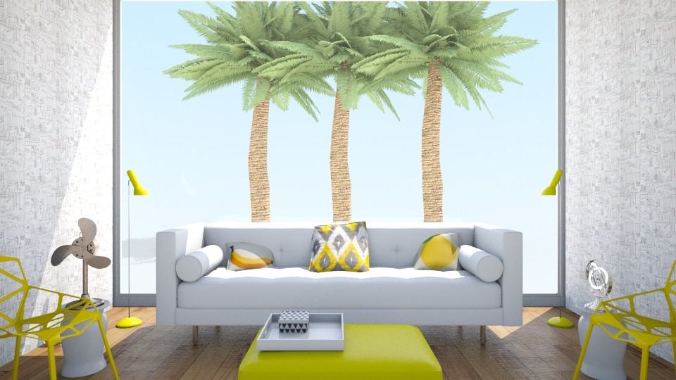 Simple Brazilian - Living room - by LaughingDonut