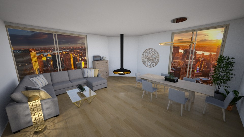 Luxury living room - Living room - by kristianvalchev