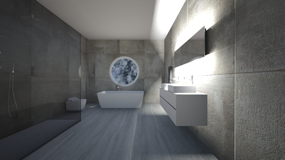 Bathroom - by __Nikoletta__