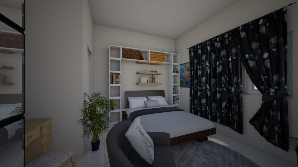 My bedroom  - by Jazrel Mae Navales