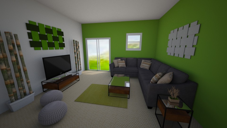 Comfy Lounge - Modern - Living room - by millerfam