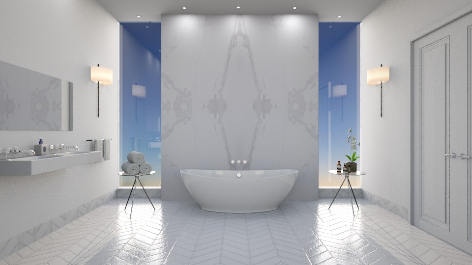 Marble - Bathroom - by Ryan_22_