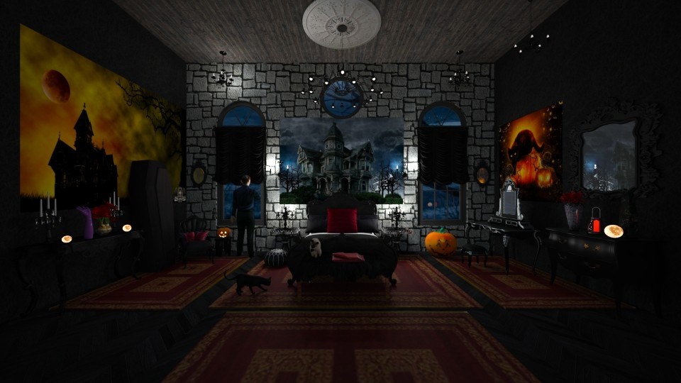 Haunted House - Eclectic - Bedroom - by Kelly Carter