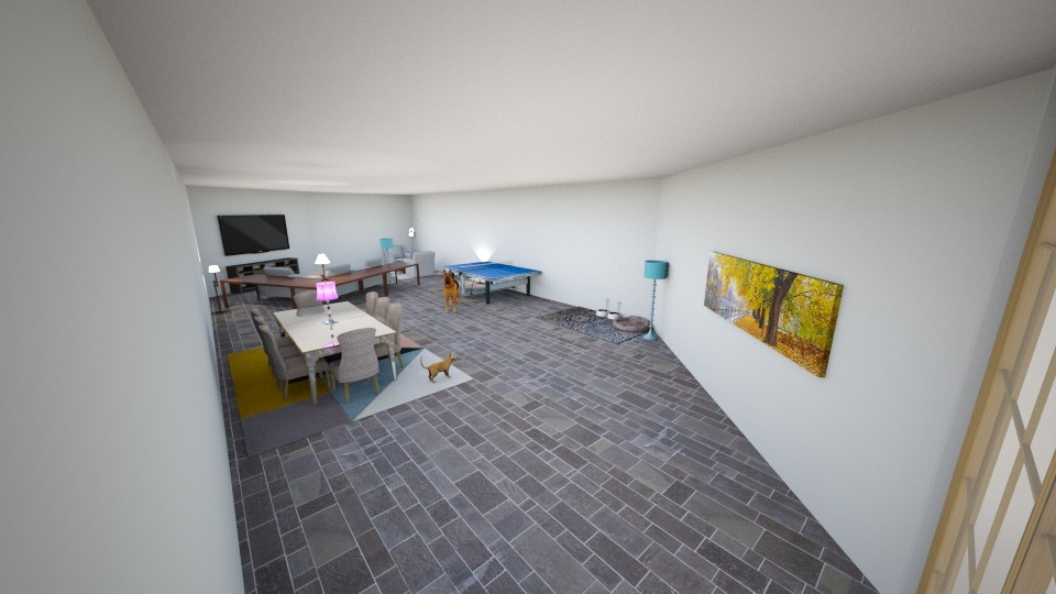 Game Room - Modern - by SquorpionDestroyer