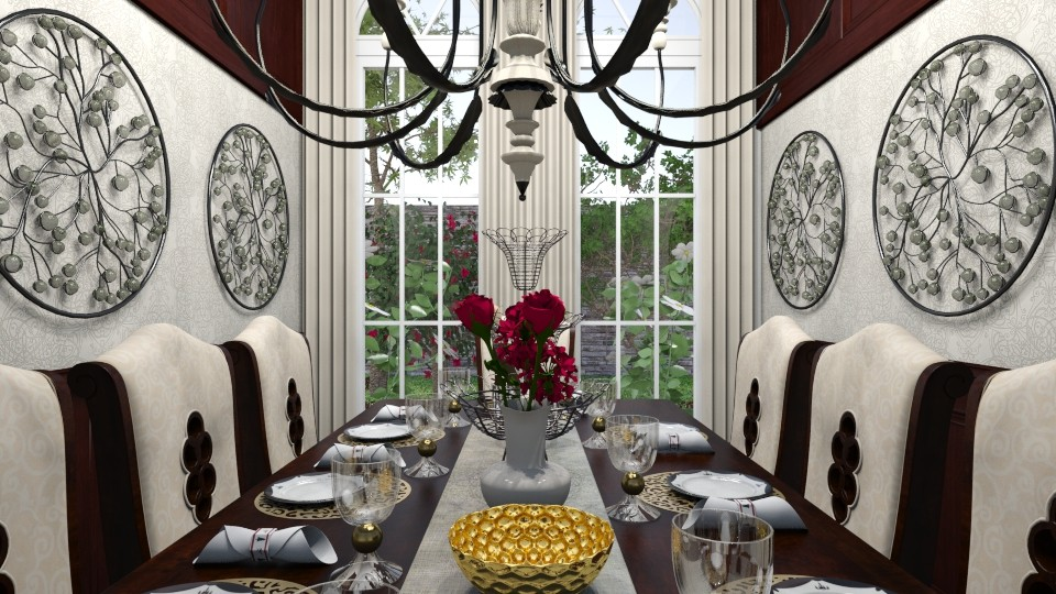 Upscale - Classic - Dining room - by XiraFizade