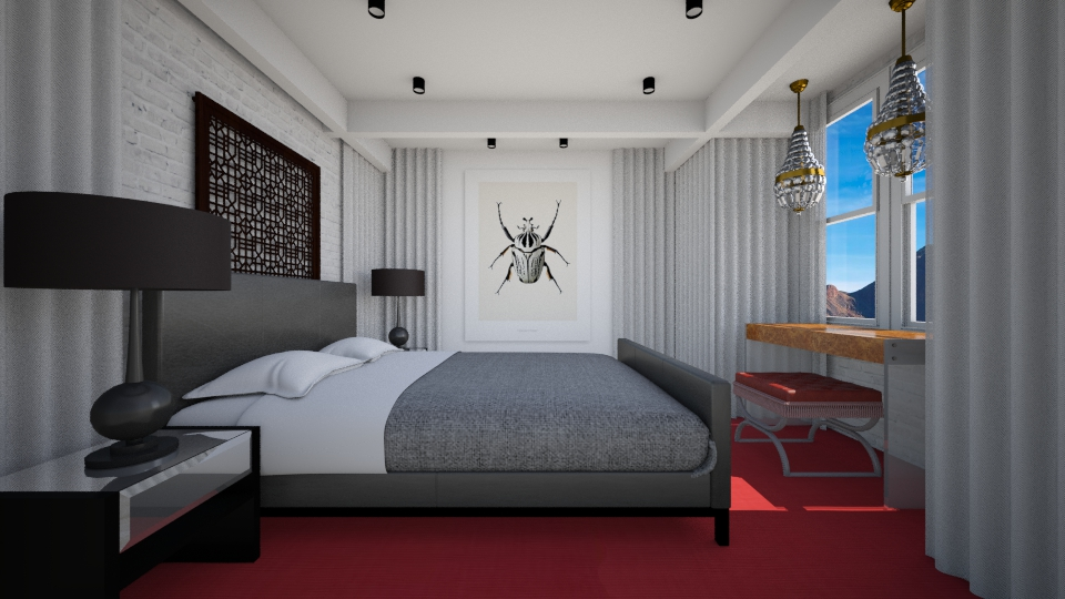 Real Bed Room 2 - Glamour - Bedroom - by 3rdfloor