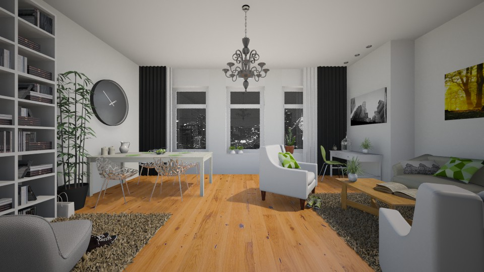 Fresh - Living room - by Keliann