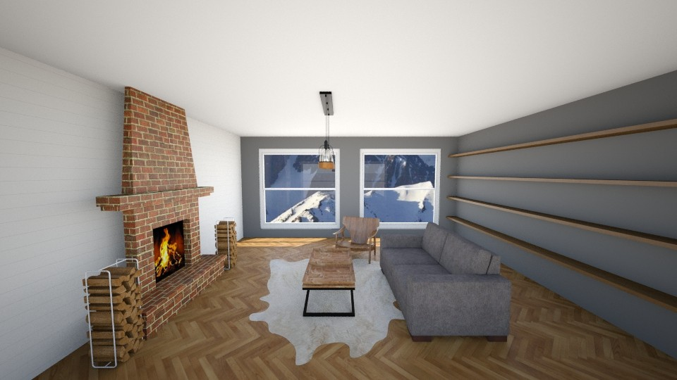 Mountain Living - Living room - by jmeyer2x4